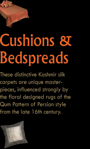 Cushions and Bedspreads